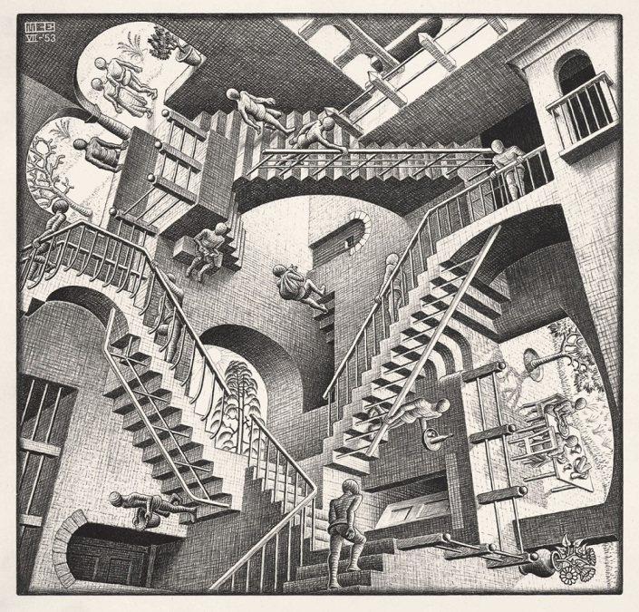 Maurits-Cornelis-Escher25_Relatività